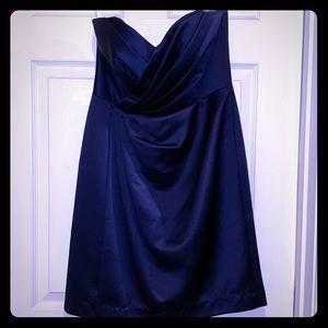 David's Bridal Dress Dark Blue Size 8